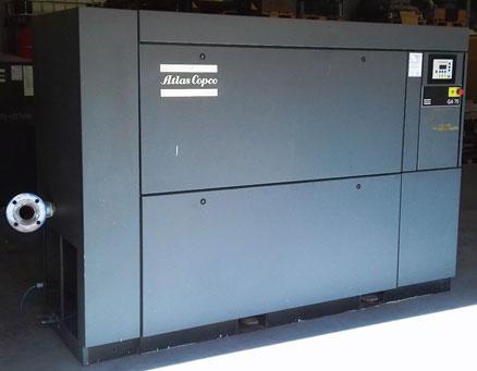 (Magyar) Felújított, kiváló állapotú GA75-7,5 P csavarkompresszor
